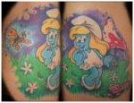 Cartoon Tattoos, Design Ideas For Cartoon Tattoos