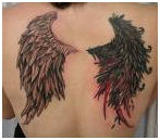 Different Type Of Wing Tattoos, Tattoos That Look Like Wings