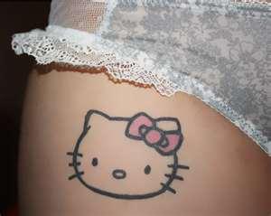6f33504bb Hello Kitty Tattoos, Tattoos Of Hello Kitty