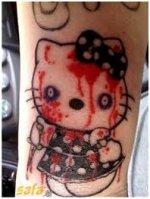 83d9b485b5e03 Hello Kitty Tattoos, Tattoos Of Hello Kitty