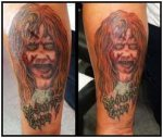 Horror Movie Tattoos, Tattoos From Horror Movies